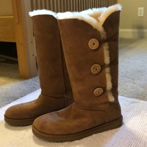 Ugg Chestnut Bailey Button Triple Boots